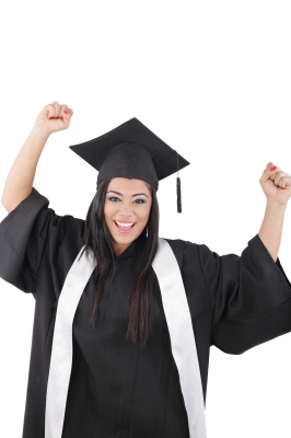 how to get money for college graduate celebrating