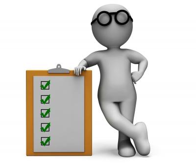Survey checklist for paper survey